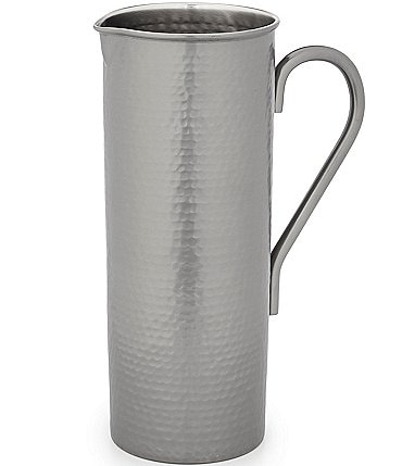 Image of Southern Living Gunmetal Hammered Pitcher