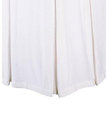 Image of Southern Living Heirloom Cotton Pique Bed Skirt