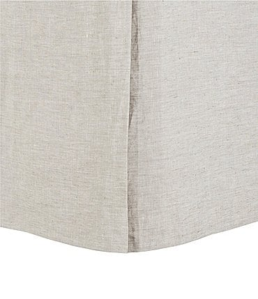 Image of Southern Living Heirloom Distressed Linen Bed Skirt