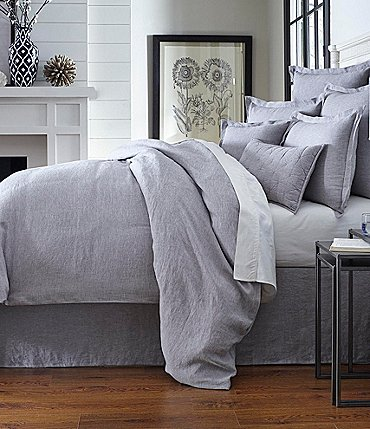 Image of Southern Living Heirloom Linen Duvet