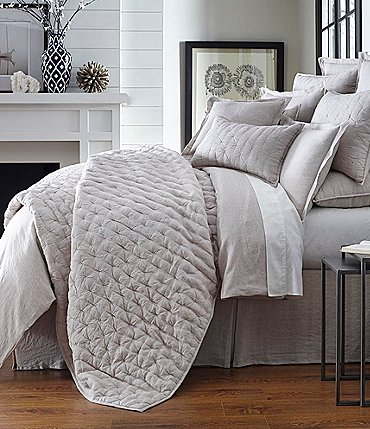 Image of Southern Living Heirloom Linen Quilt