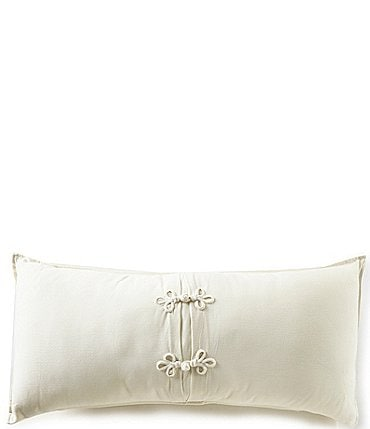 Image of Southern Living Heirloom Piqué Bolster Pillow