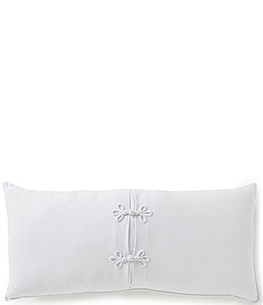 Image of Southern Living Heirloom Pique Bolster Pillow