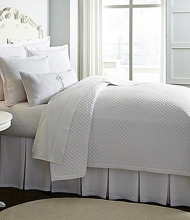 Image of Southern Living Heirloom Quilted Cotton Pique Coverlet