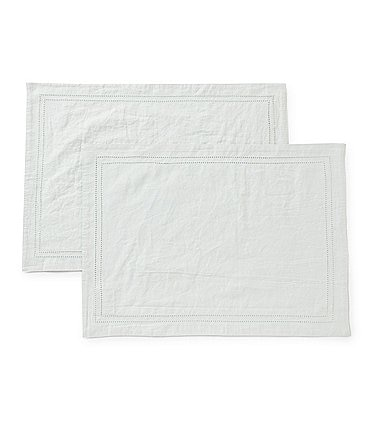 Image of Southern Living Hemstitch Placemat, Set of 2