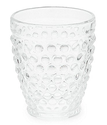 Image of Southern Living Hobnail Double Old-Fashion Glass