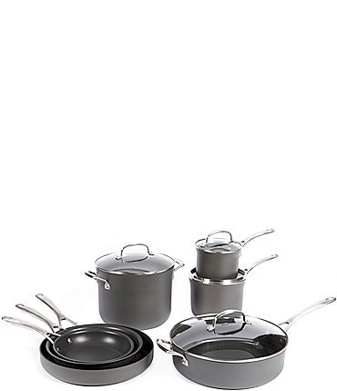 Image of Southern Living Kitchen Solution Collection 11-Piece Hard Anodized Nonstick Cookware Set
