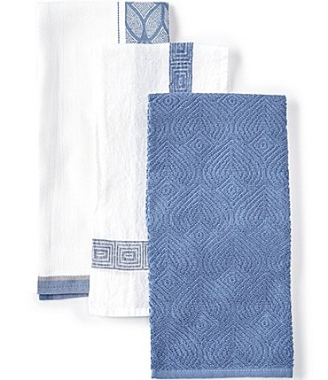 Image of Southern Living Kitchen Solution Collection Set of 3 Kitchen Towels