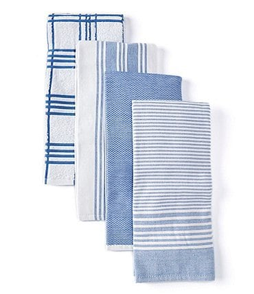 Image of Southern Living Kitchen Solution Collection, Set of 4 Kitchen Towels