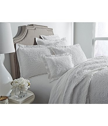 Image of Southern Living Lancaster Tiled Matelasse Coverlet