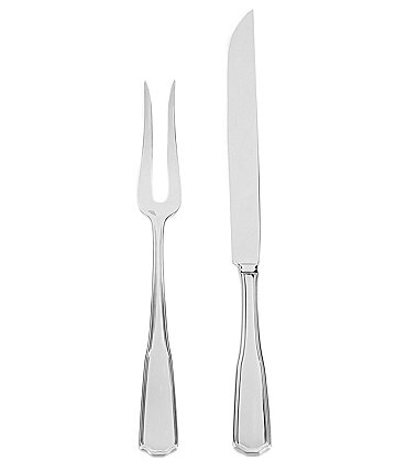 Image of Southern Living Leigh 2-Piece Stainless Steel Carving Set
