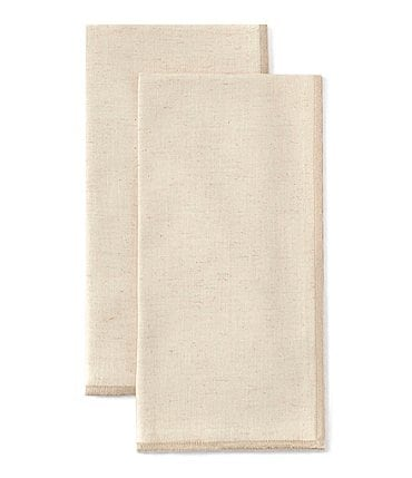 Image of Southern Living Light Textured Napkins, Set of 2