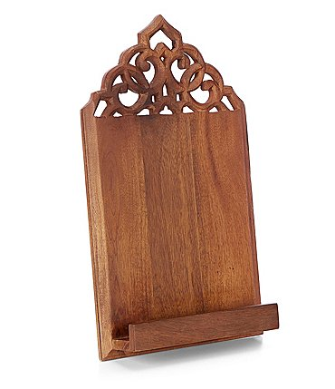 Image of Southern Living Mango Wood Cookbook Holder