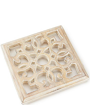 Image of Southern Living Mango Wood Large Trivet