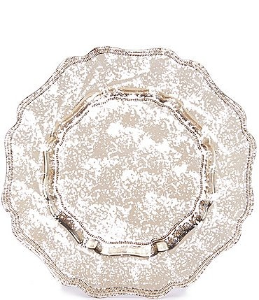Image of Southern Living Mercury Glass Retro Charger