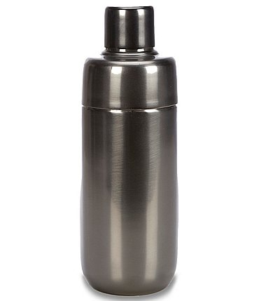 Image of Southern Living Modern Grey Stainless Steel Cocktail Shaker