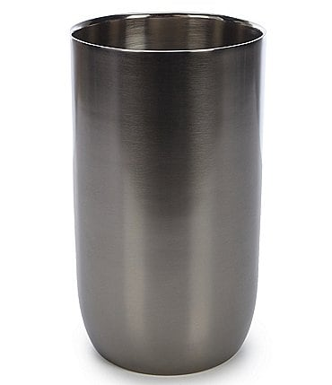 Image of Southern Living Modern Grey Stainless Steel Wine Chiller