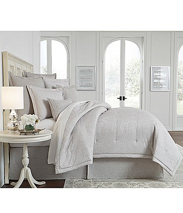 Image of Southern Living Montford Damask Comforter Mini Set