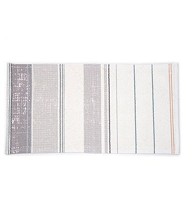 Image of Southern Living Kitchen Solution Collection Multi Stripe Kitchen Floor Mat