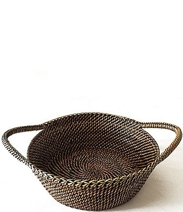 Image of Southern Living Spring Collection Nito Woven Basket