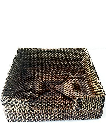 Image of Southern Living Spring Collection Nito Woven Napkin Holder