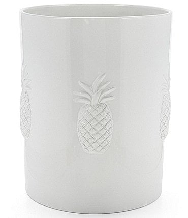 Image of Southern Living Pineapple Wastebasket