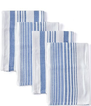 Image of Southern Living Kitchen Solution Collections Set of 4 Kitchen Towels