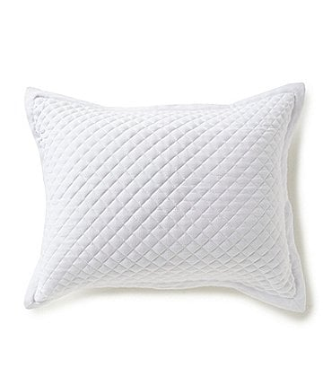 Image of Southern Living Quilted Cotton Piqué Sham
