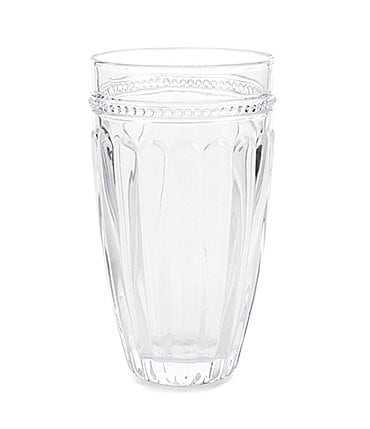 Image of Southern Living Ribbed Highball Glass