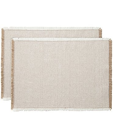 Image of Southern Living Simplicity Placemats, Set of 2