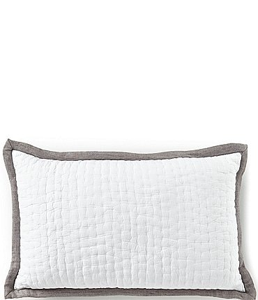 Image of Southern Living Simplicity Collection Addison Taupe Breakfast Pillow