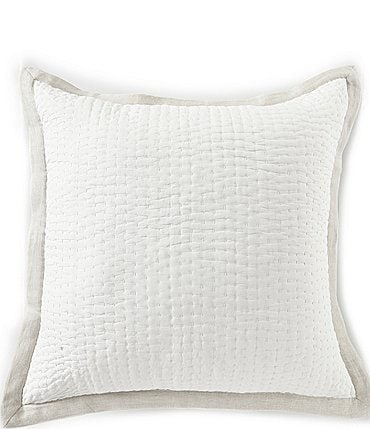Image of Southern Living Simplicity Collection Addison Taupe Euro Sham