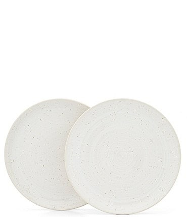 Image of Southern Living Simplicity Speckled Dinner Plates, Set of 2