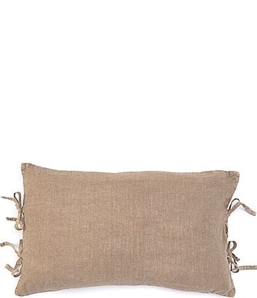 Image of Southern Living Simplicity Collection Garrison Washed Linen & Cotton Breakfast Pillow