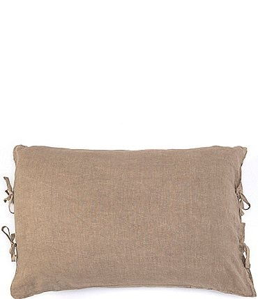 Image of Southern Living Simplicity Collection Garrison Washed Linen & Cotton Sham
