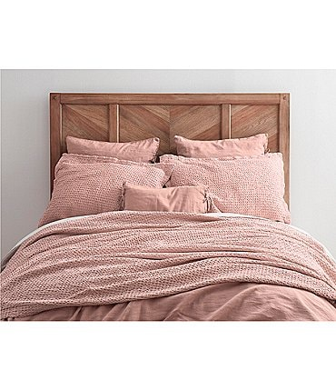 Image of Southern Living Simplicity Collection Gavin Waffle Coverlet