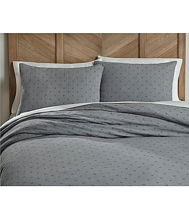 Image of Southern Living Simplicity Collection Linden Linen & Cotton Duvet