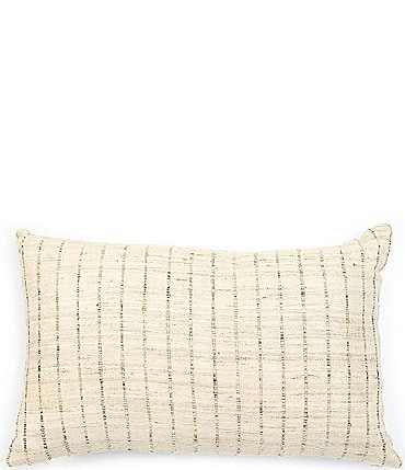 Image of Southern Living Simplicity Collection Linen & Silk Breakfast Pillow
