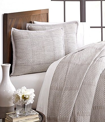 Image of Southern Living Simplicity Collection Mason Coverlet