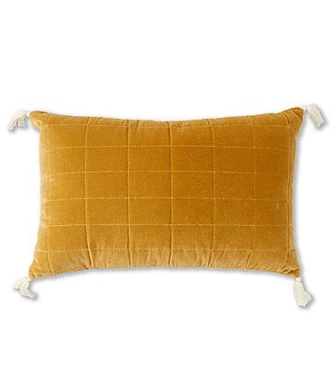 Image of Southern Living Simplicity Collection Velvet Breakfast Pillow