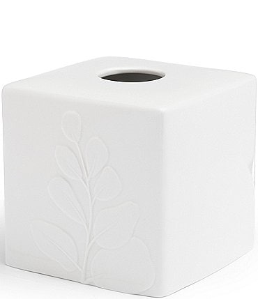 Image of Southern Living Simplicity Spa Collection Tissue Box Holder
