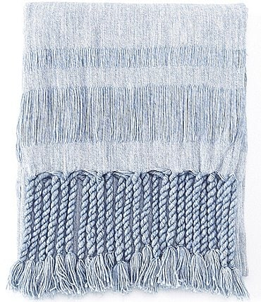 Image of Southern Living Spring Collection Townsend Tassel Fringe Throw