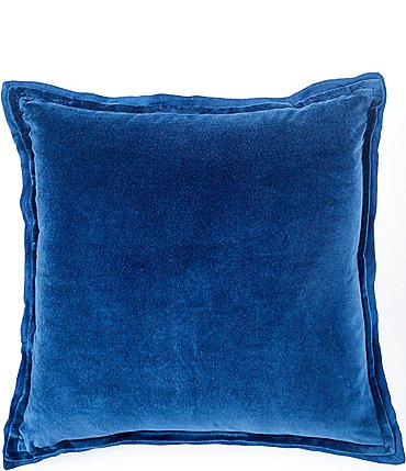 Image of Southern Living Velvet & Linen Oversize Square Pillow