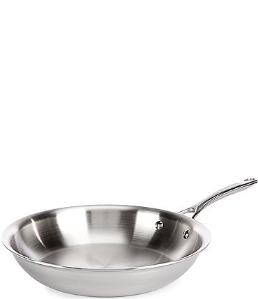 "Image of Southern Living Tri-Ply Clad Stainless Steel 12.75"" Open Skillet"
