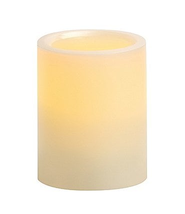 "Image of Southern Living Vanilla Scented 3"" Flameless Candle"