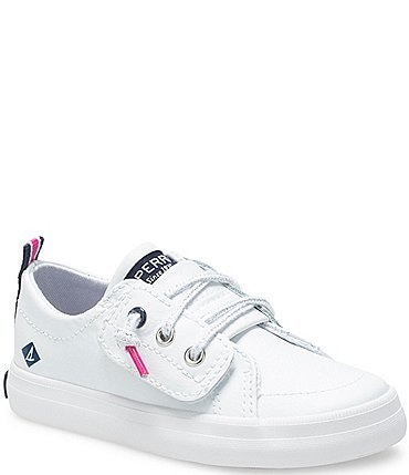Image of Sperry Girls' Crest Vibe Jr Leather Sneakers (Infant)