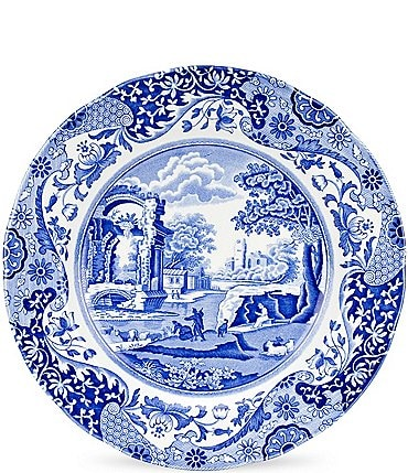 Image of Spode Blue Italian Dinner Plate