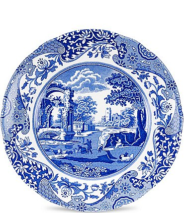 Image of Spode Blue Italian Salad Plate