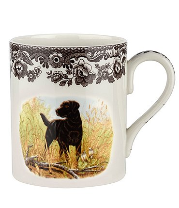 Image of Spode Festive Fall Collection Woodland Hunting Dogs Mug
