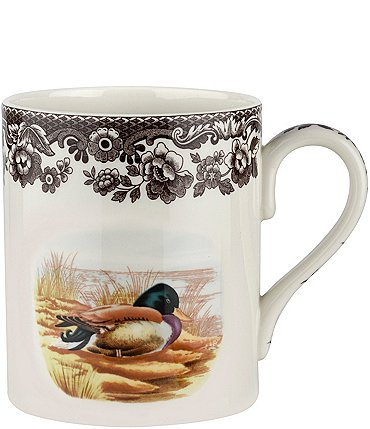 Image of Spode Festive Fall Collection Woodland Mallard Mug